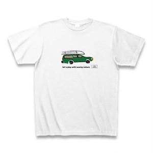 カートップTシャツ【ホワイト】
