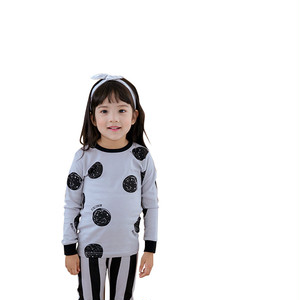 ドット柄のルームウェア / 韓国子供服