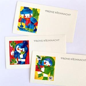 ビンテージクリスマスカード 東ドイツ ヴィンテージ