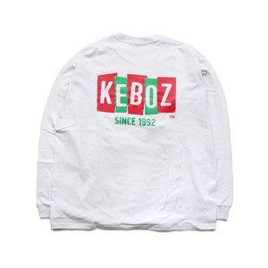 BS HEAVY WEIGHT L/S TEE【WHITE】