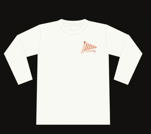 【ロンT】鉄琴ロゴ/レッド