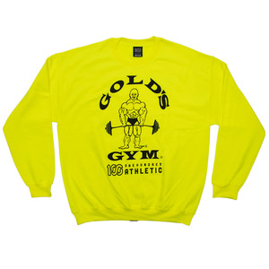 GOLD'S GYM x 100A CREWNECK SWEAT