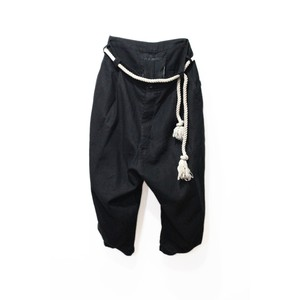 【VITAL】Tuck Volume Pants (BLK)