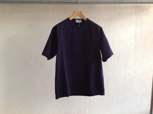 "FLISTFIA""Short Sleeve Sweat Navy"""