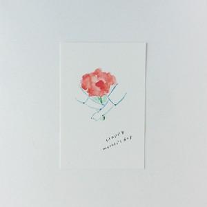 ポストカード Happy mother's day