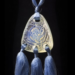 René Lalique Glass Pendant -GRAINES-