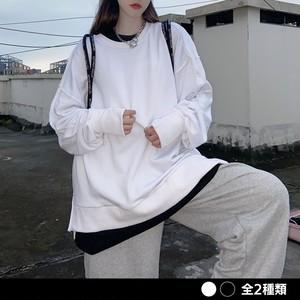 《ランキング13位》インサイドアウト指穴シャツ(全2色) / HWG370