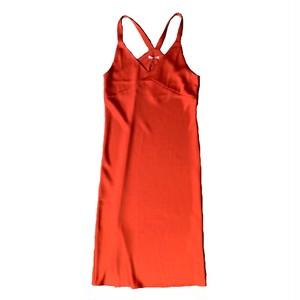 VIOLETTE ROOM : SLIP DRESS (RED)