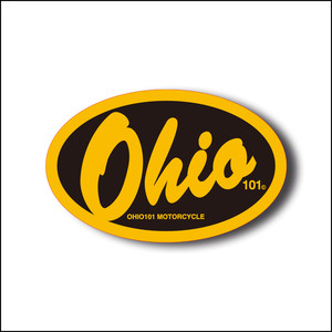 OHIO101 LOGO STICKER large