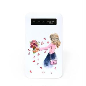 花束《モバイルバッテリー》
