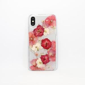 【X/XS対応】押し花 iPhone case