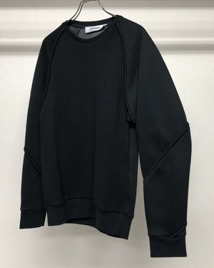 AW2015 CHALAYAN COMBINATION SWEATSHIRT