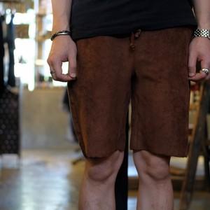 【Universal Style Wear(U.S.W)】フェイクスエードショートパンツ