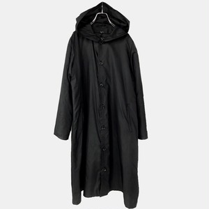 Y'S DETACHABLE LINER NYLON LONG COAT