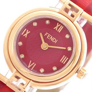 フェンディ FENDI 腕時計 レディース F275277BD モーダ MODA クォーツ レッド レッド