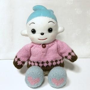 コプエルセーター:アポロチョコなセーター*ピンク+焦茶