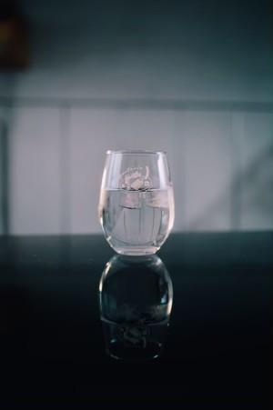 オリジナルロゴ入りグラス 2個セット