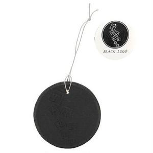 メンズ フレグランスコイン ブラックロゴ