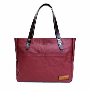 BERMAS 「COMMUTE」 HORIZONTAL ZIP TOTE <RED>
