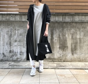 Unsourire オリジナルシャツワンピース/ブラック