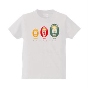 KID'sサイズ アマトリョーシカ Tシャツ