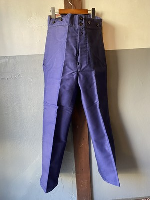 N.O.S 1940's LE SANS RIVAL moleskin work trousers