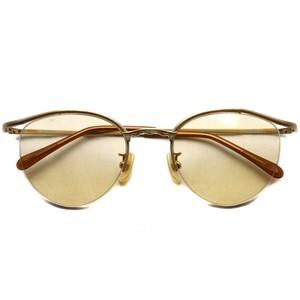 BOSTON CLUB ボストンクラブ / BART Sun / 02 Shiny Gold- Light Orange Lenses ゴールド-ライトオレンジレンズサングラス