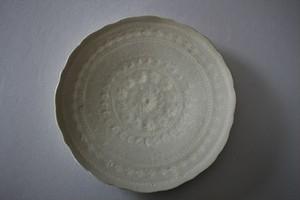 マルヤマウエア|三島平皿7寸C