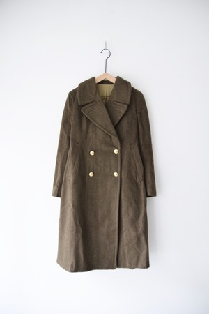 【MILITARY】FRENCH 50's WOOL LINER COAT LONG