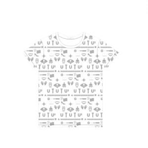 UTUTU 総柄Tシャツ