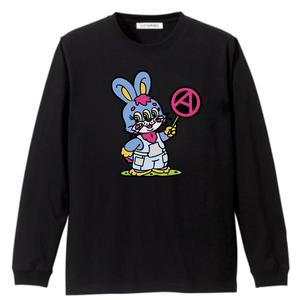 PSYCHOWORKS Rabbit long sleeve t-shirt B