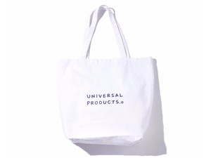 """UNIVERSAL PRODUCTS. """" UP+N TOTE BAG """" WHITE"""