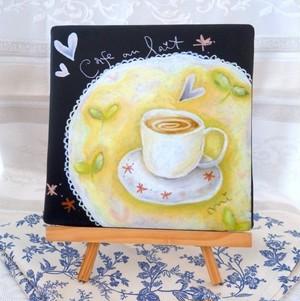 Cafe au lait (ジクレー版画)