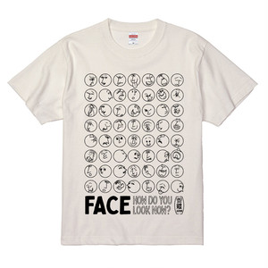 FACE T-shirt / Tシャツ【受注生産】