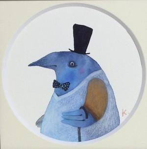 カタフォニスの動物絵 鳥さんお洒落