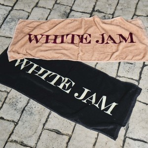 "Towel ""WHITE JAM"""