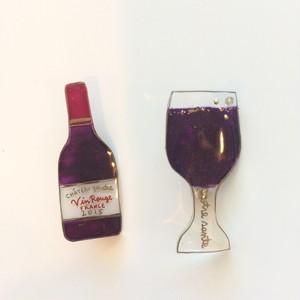 キャトルシス アルコールブローチセット / 赤ワイン