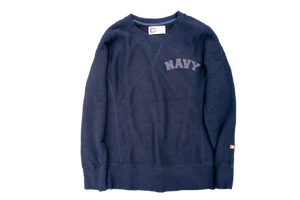 TSALE!!30%OFF  HE HARD MAN(ザ ハードマン)Logo Sweat Shirts ネイビー
