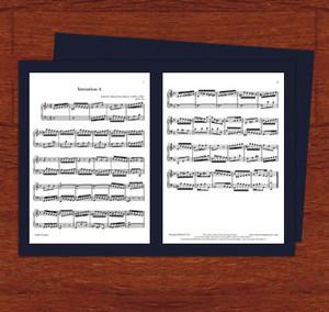 楽譜台紙2枚用