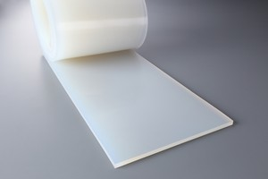 シリコーンゴム A50  10t (厚)x 200mm(幅) x 1000mm(長さ)乳白 ※食品衛生法適合品