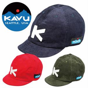 (カブー)KAVU Cord BaseBall CAP