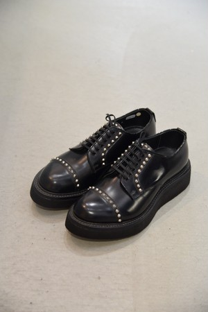 """【KIDS LOVE GAITE】""""Studs Leather Lace Up Shoes"""""""
