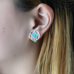 Christian Dior star earrings