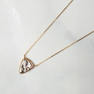 Sliced Diamond Necklace / Yellow Gold(N210-YD)