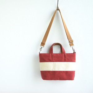 WIDE BORDER TOTE FS (2WAY)/ RED
