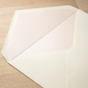 飾り紙 パールピンク(洋1封筒用)| 10枚