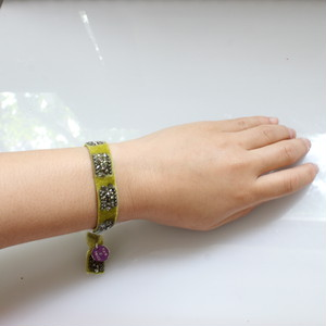 Beatrice Bracelete 13㎜(green)