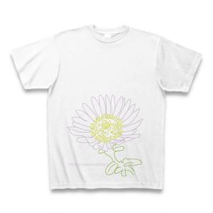 磯寒菊 フラワーイラストTシャツ