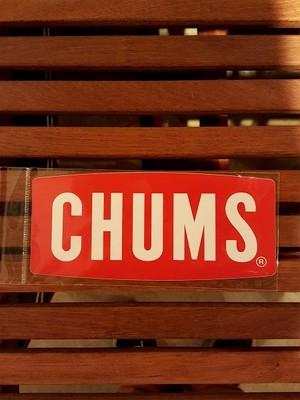 CHUMS チャムス ボート ロゴステッカー M