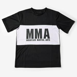 MMA 2tone Panel Tee (Black)